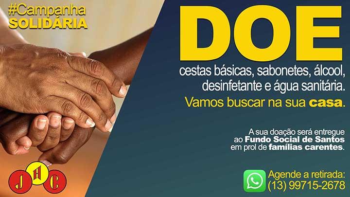 Jabaquara faz campanha solidária para famílias carentes